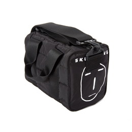 POKER FACE PADDING CROSS BAG(ブラック)【18FW SKULL HONG】