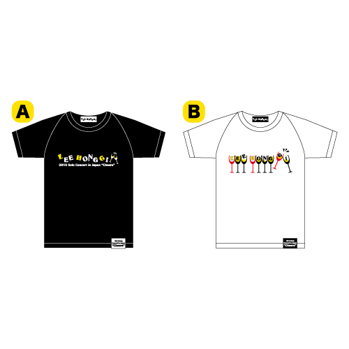 "Tシャツ【LEE HONG GI 2018 Solo Concert in Japan""Cheers""】"