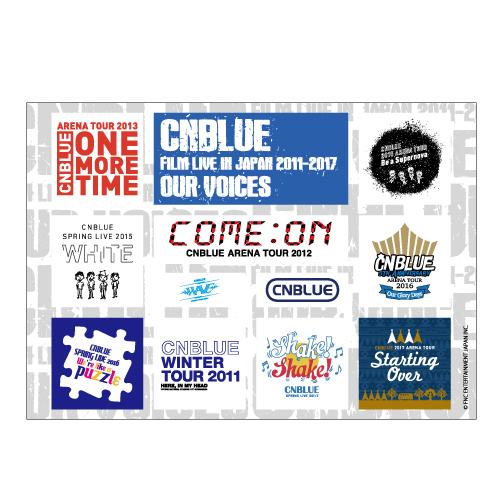 マグネットシート【CNBLUE : FILM LIVE IN JAPAN 2011-2017】