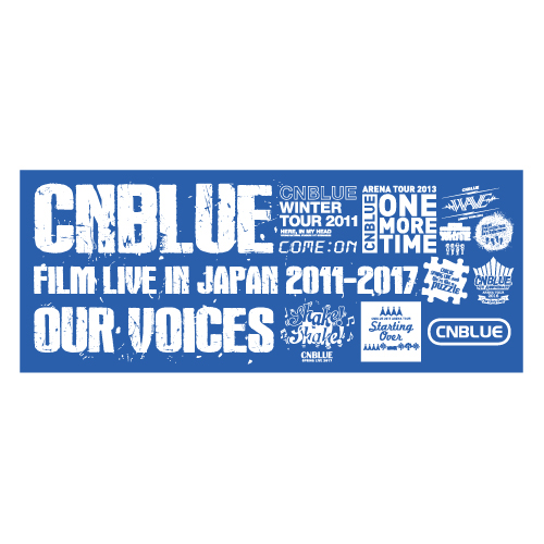 フェイスタオル【CNBLUE : FILM LIVE IN JAPAN 2011-2017】