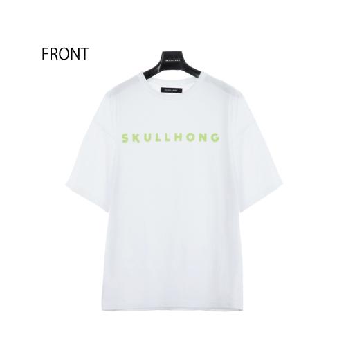 LOGO T-SHIRT(ホワイト)【19SS SKULL HONG】