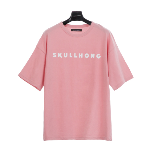 LOGO T-SHIRT(ピンク)【19SS SKULL HONG】