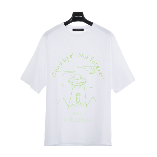 SPACE T-SHIRT(ホワイト)【19SS SKULL HONG】