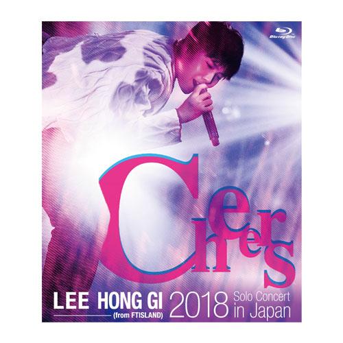 """イ・ホンギ(from FTISLAND)2018 Solo Concert in Japan """"Cheers""""【通常盤Blu-ray】"""