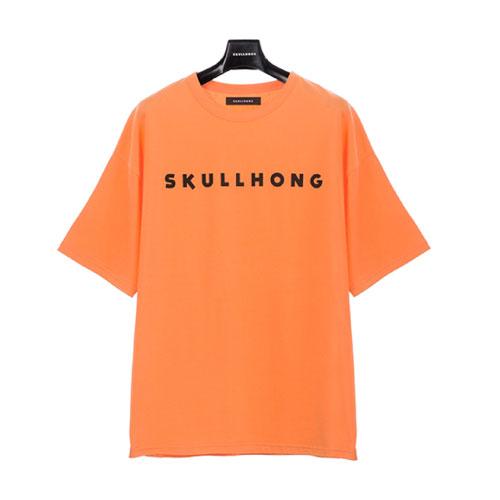 LOGO T-SHIRT(オレンジ)【19SS SKULL HONG】