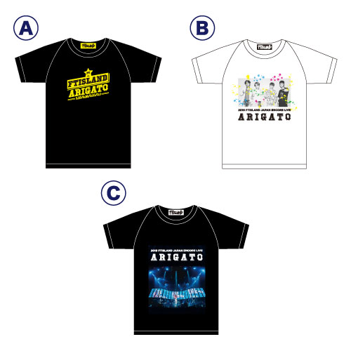 KIDS Tシャツ【2019 FTISLAND JAPAN ENCORE LIVE】