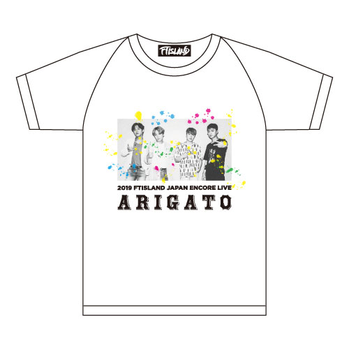 TシャツB(白)【2019 FTISLAND JAPAN ENCORE LIVE】