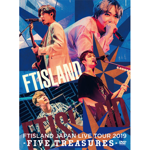 FTISLAND JAPAN LIVE TOUR 2019 -FIVE TREASURES- at WORLD HALL 【Primadonna盤 DVD】