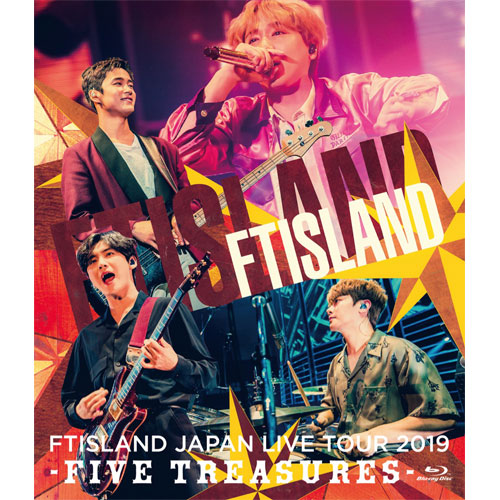 FTISLAND JAPAN LIVE TOUR 2019 -FIVE TREASURES- at WORLD HALL 【通常盤 Blu-ray】