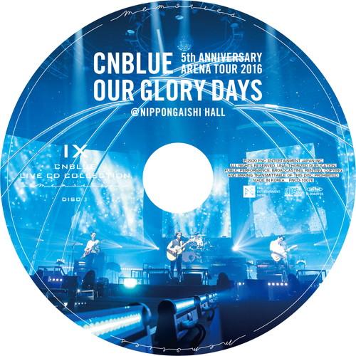 【2CD】5th ANNIVERSARY ARENA TOUR 2016 -Our Glory Days- @NIPPONGAISHI HALL
