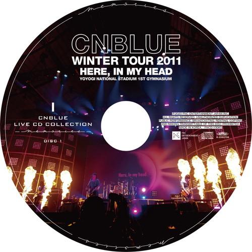 【2CD】Winter Tour 2011 ~Here, In my head~ @YOYOGI NATIONAL STADIUM 1ST GYMNASIUM
