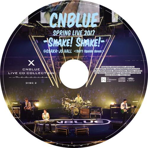 【2CD】SPRING LIVE 2017 -Shake! Shake!- 〈DAY1 Upside Down〉 @OSAKA-JO HALL