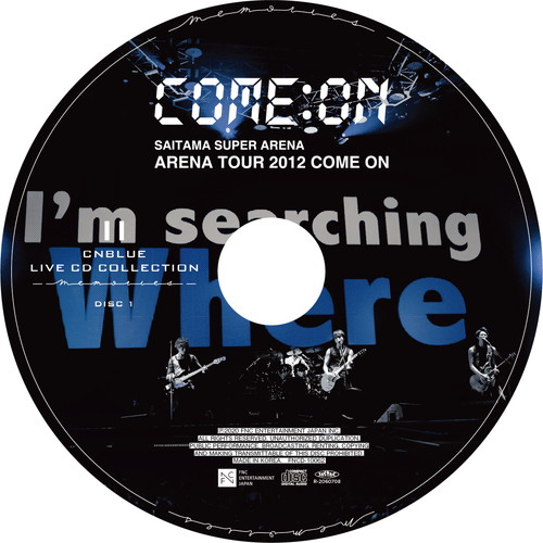 【2CD】Arena Tour 2012 ~COME ON!!!~ @SAITAMA SUPER ARENA