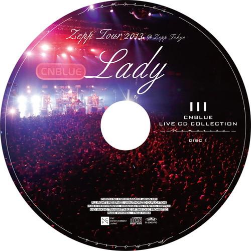 【2CD】Zepp Tour 2013 ~Lady~ @Zepp Tokyo