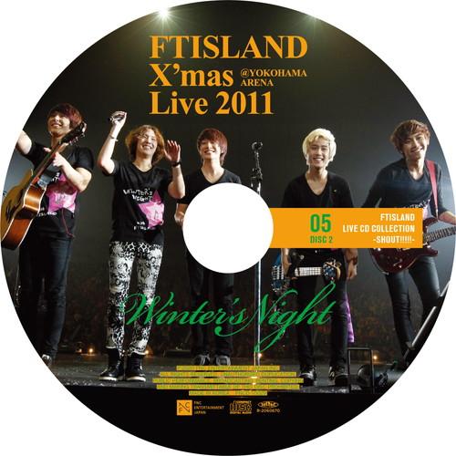 【2CD】X'mas Live 2011 Winter's Night @YOKOHAMA ARENA