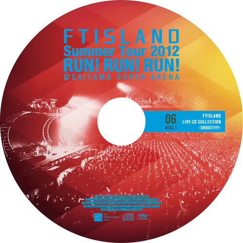 【2CD】Summer Tour 2012 ~RUN!RUN!RUN!~ @SAITAMA SUPER ARENA