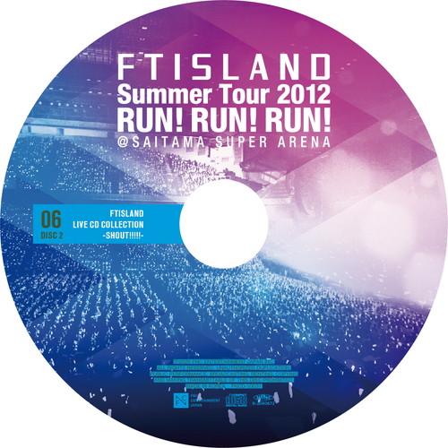 【2CD】Summer Tour 2012 ~RUN!RUN!RUN!~ @SAITAMA SUPER ARENA
