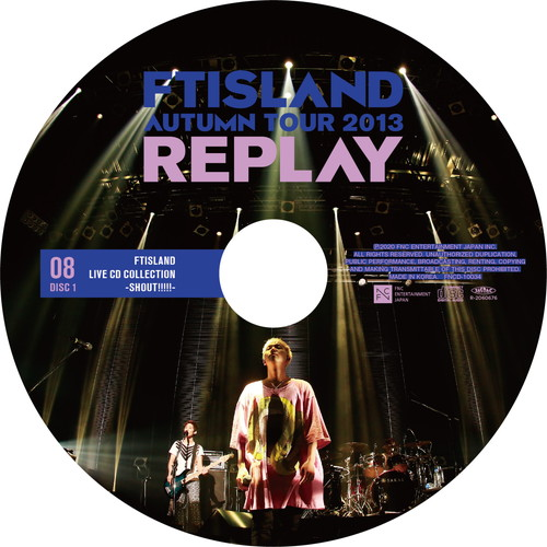 【2CD】AUTUMN TOUR 2013 ~REPLAY~ @Zepp Nagoya