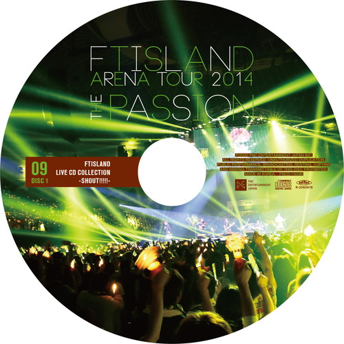 【2CD】ARENA TOUR 2014 -The Passion- @NIPPONGAISHI HALL
