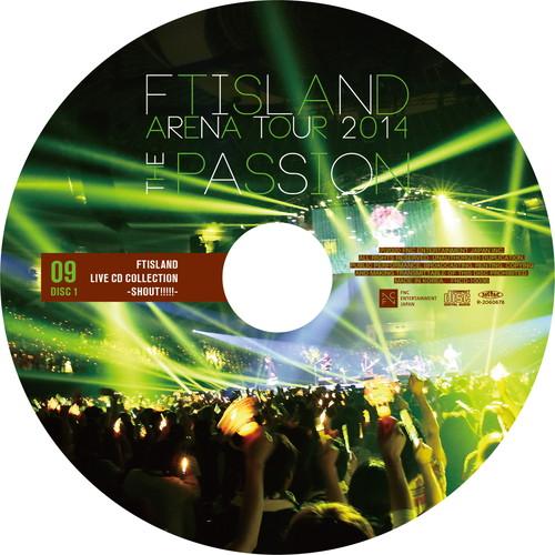 【2CD】ARENA TOUR 2014 -The Passion- @NIPPONGAISHI HALL