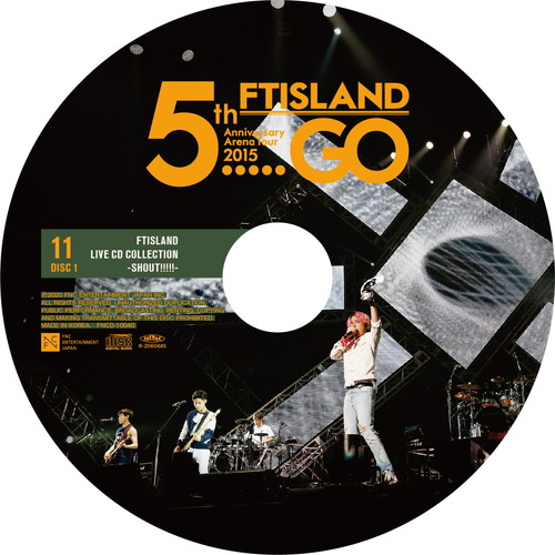 "【2CD】5th Anniversary Arena Tour 2015 ""5.....GO"" @YOKOHAMA ARENA"