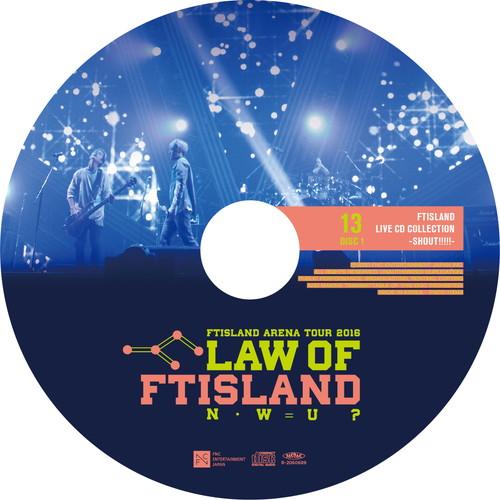 【2CD】Arena Tour 2016 -Law of FTISLAND:N.W.U- @TOKYO METROPOLITAN GYMNASIUM
