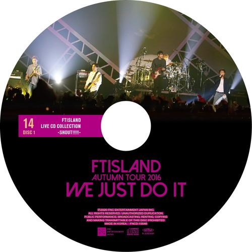 【2CD】AUTUMN TOUR 2016 -WE JUST DO IT- @Toyosu PIT