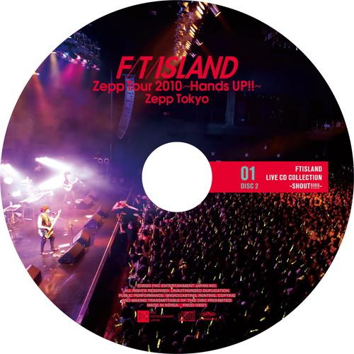 【2CD】Zepp Tour 2010 ~Hands UP!!~ @Zepp Tokyo
