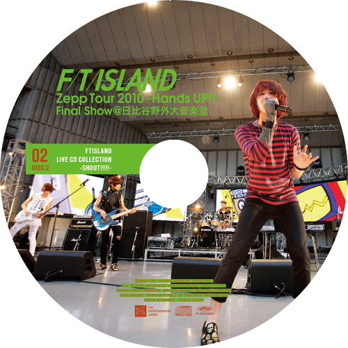 【2CD】Zepp Tour 2010 ~Hands UP!!~Final Show @Hibiya Open-Air Concert Hall