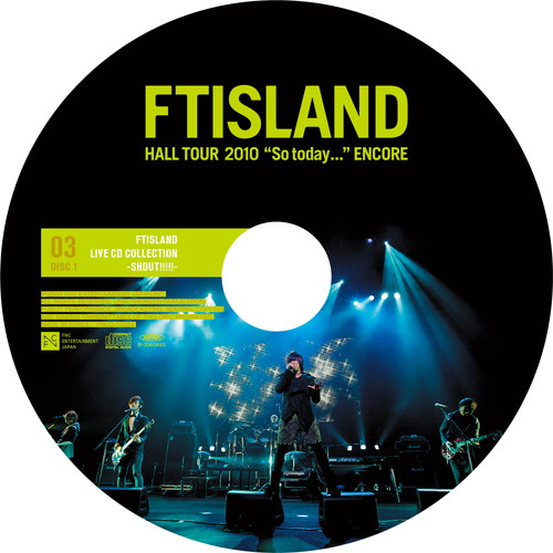 "【2CD】HALL TOUR 2010 ""So today..."" ENCORE @TOKYO INTERNATIONAL FORUM"