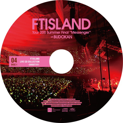 "【2CD】Tour 2011 Summer Final ""Messenger"" @BUDOKAN"