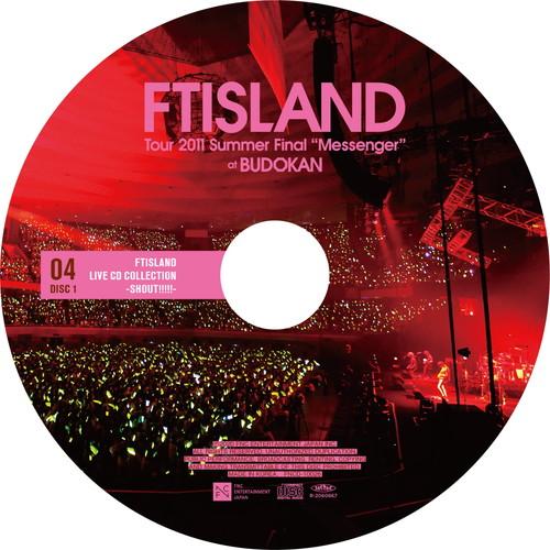"""【2CD】Tour 2011 Summer Final """"Messenger"""" @BUDOKAN"""