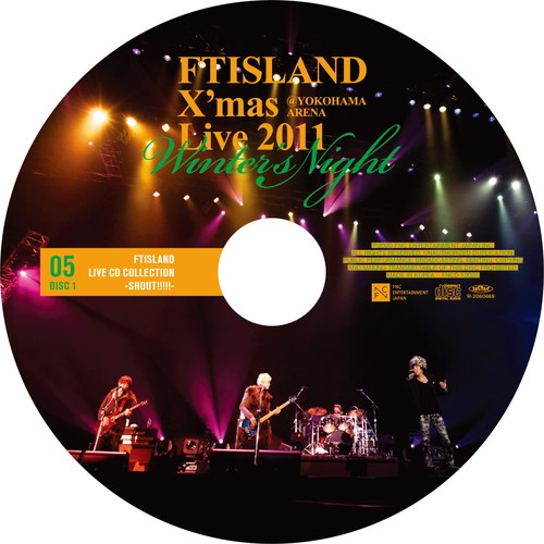【2CD】X'mas Live 2011 Winter's Night @YOKOHAMA ARENA