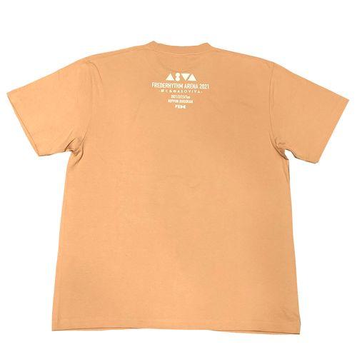 ASVA F4 T-Shirt / コーラルベージュ