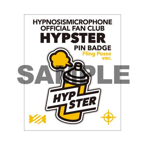 HYPSTERピンバッジ シブヤ・ディビジョン/Fling Posse