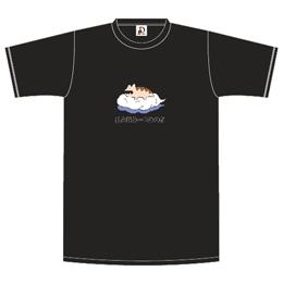 雲乗りレンちゃんTシャツ/ブラック