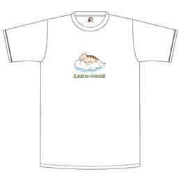 雲乗りレンちゃんTシャツ/ホワイト
