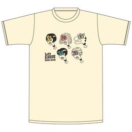 ビックリ 55555! Tシャツ/キナリ