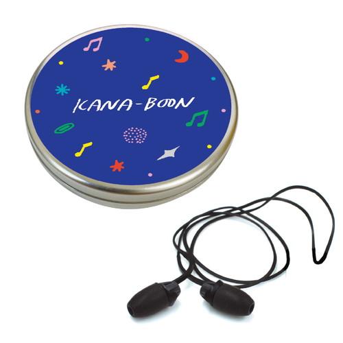 KANA-BOONのMUSICイヤープラグ/ネイビー