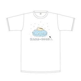 レンちゃんオンザアイスTシャツ/ホワイト
