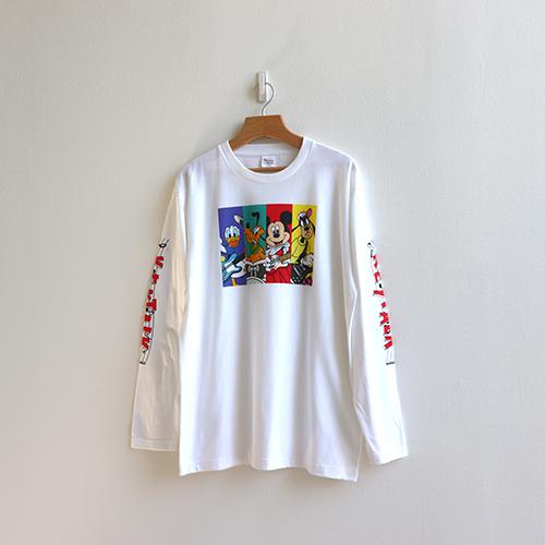KEYTALK 2020【DISNEY】 長袖Tシャツ<縦割り>