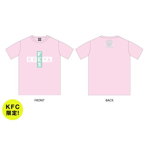 FES Tシャツ/ピンク【KFC限定】