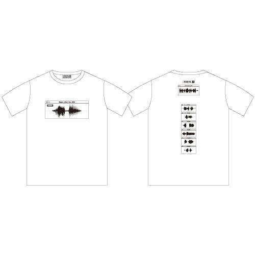 完全1人ツアー Tシャツ/ホワイト