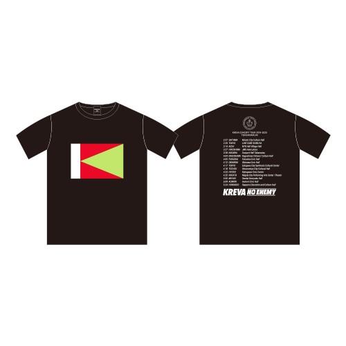 NO ENEMY Tシャツ/ブラック