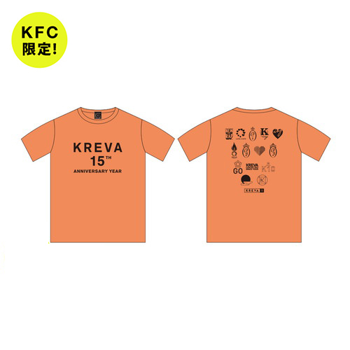 成長の記録 Tシャツ ~KFC Ver.~/オレンジ