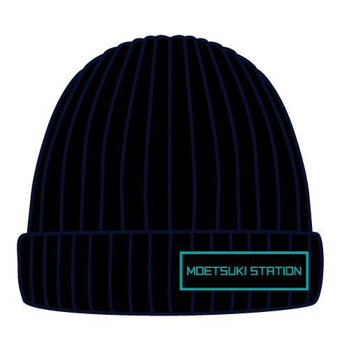 【BURNOUT SYNDROMES】MOETSUKI STATIONニット帽