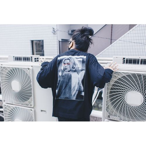 Nulbarich×DELUXE long sleeve T-shirts