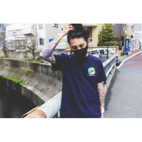 Nulbarich T-Shirt 「Together feat. BASI」/navy
