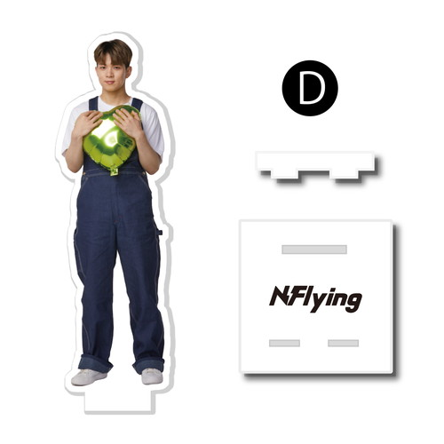 [N.Flying] アクリルスマホスタンド