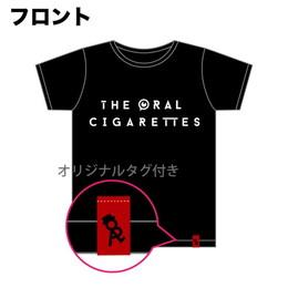 シンプルロゴTシャツ/ブラック